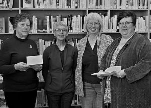Alberta Union of Provincial Employees Local 001 donates $500 to both Falher and McLennan libraries