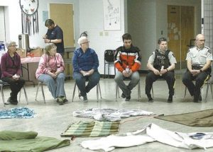 KAIROS Blanket Exercise, an emotional, informative and cathartic experience
