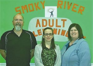 """Foundation literacy skills is the primary focus of """"Smoky River Adult Learning Programs"""" while it also offers a broad range of community courses"""