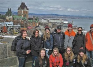 Vanier French immersion students spend four days immersed in Quebec City history and culture