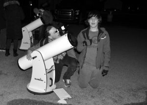 Students at GPV engage in star gazing