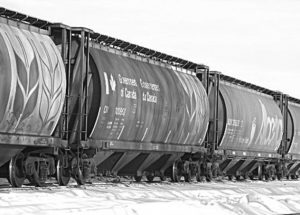CN Rail says that it is now up-to-date with customer demand in the Alberta Peace Region