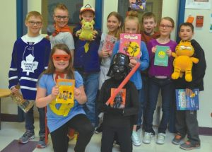 Heritage students dress up as their favourite characters for 'World Book Day'