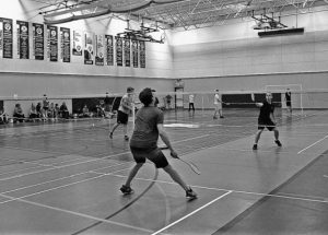 Vanier and Heritage co-host their 3rd invitational badminton meet