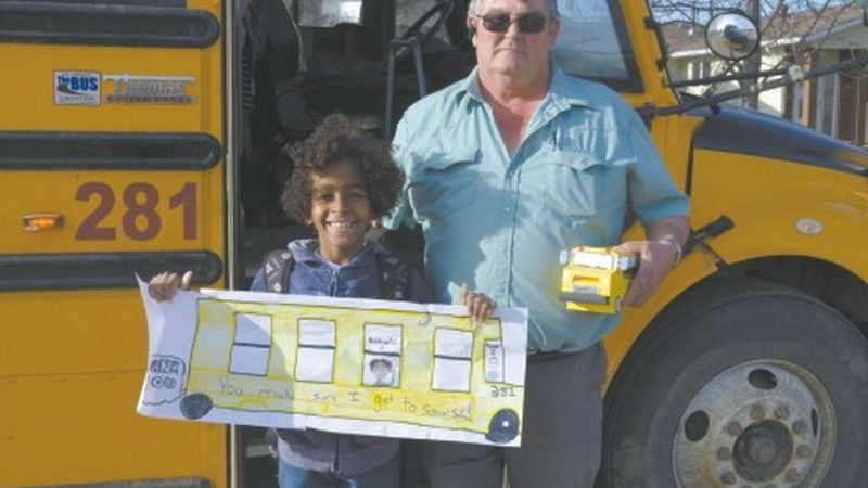 Bus Driver Appreciation Day held at Ecole Routhier, GPV