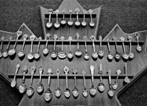 A spoon collection from around the world