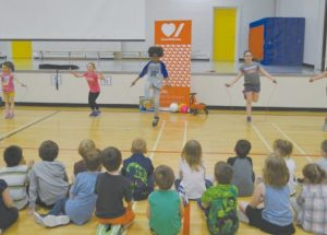 PIC – Ecole Routhier students start fundrasing for 'Jump Rope for Heart'