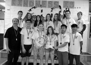 GPV badminton teams end season on high note