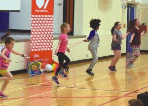 Jump Rope for Heart fundraising commences at Ecole Routhier