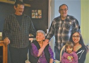 McLennan resident Pauline Gervais celebrates her ninetieth birthday