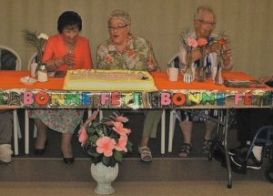 """Special Seniors Tea,"" events got underway in the region from June 4 to June 7"
