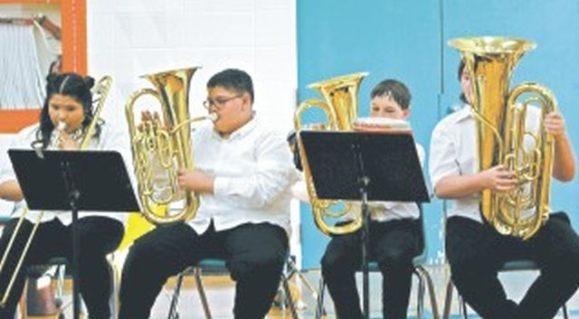 G.P. Vanier year-end concert was certainly a Grand Finale