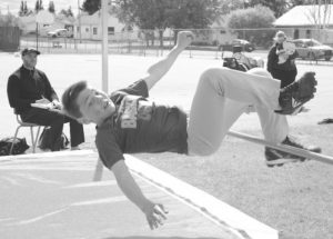 PIC – A successful jump in track-and-field