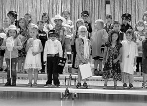 A fond farewell to the English and French kindergarten classes