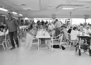 Villa Beausejour hosts barbecue for residents, their families and friends