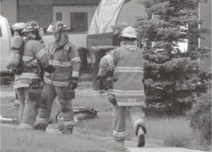 PICs – Smoky River Fire Department and RCMP respond to house fire in Falher on July 3