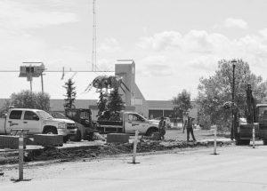 Work begins on repaving, sidewalk work in Falher