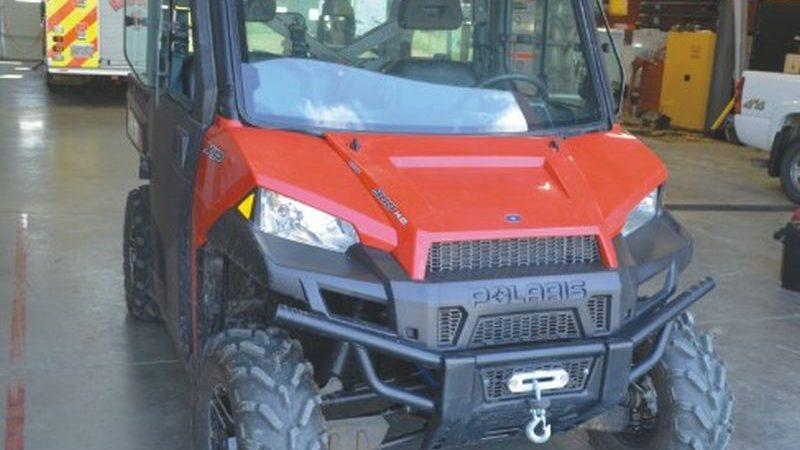 Smoky River Emergency Services adds UTV for wildland operations