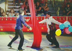 The Great Benjamins Circus offered classic entertainment in Falher on July 27
