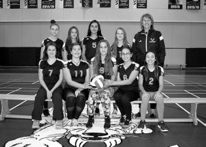 Meet the junior and senior volleyball teams of Ecole Heritage