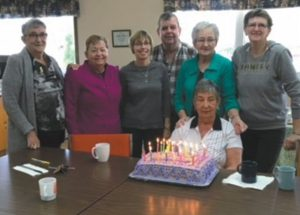 PIC – Birthday celebrations at the Club des Pionniers