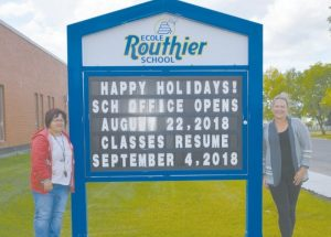 Ecole Routhier principal welcomes students back, looks forward to a great year