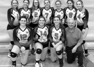 GPV senior girls' volleyball team takes first place in the Rocky Mountain House invitational tournament