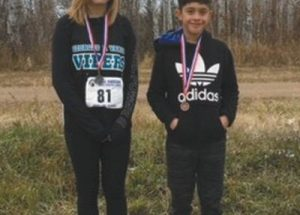 PIC – Medal wins for the GPV cross country running team