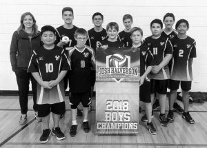 GPV junior boys volleyball team brings home banner