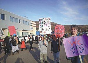 "Peace River ""Sisters in Spirit"" walk and vigil expresses solidarity and inspires hope"