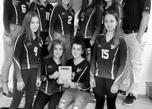 GPV junior girls' volleyball team wins consolation game in Peace River
