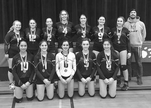 Ecole Heritage volleyball teams – medal wins, October 19-21