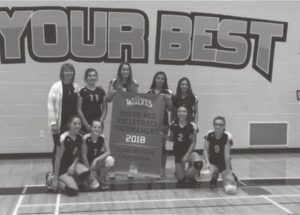 École Héritage volleyball results for the junior high boys and girls teams