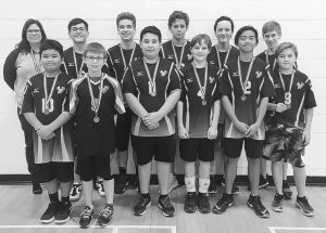 GPV junior boys' volleyball wins silver medal