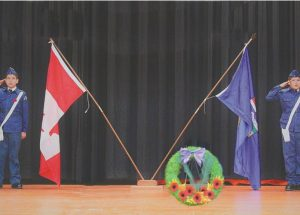 G.P. Vanier students commemorate veterans in school ceremony