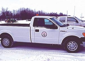 Town of Falher Public Works truck stolen