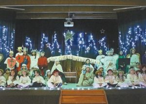Providence's thespians demonstrate their talent in Nativity play