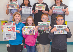 Nampa Public School students learn about the media