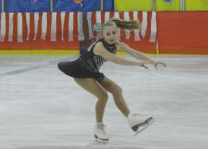 Twilight Figure Skating competes in Peace Region Star Skate Invitational