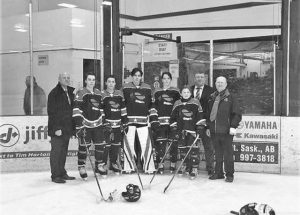 Peace River AA Sabres send a record five players to all-star game in Fort Saskatchewan