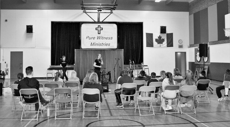 Pure Witness team brings message of faith to HFCRD schools in the region