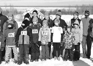 "Smoky River Runners' second annual ""Frosty Family Run"""