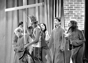 Providence students give excellent performances in school passion play