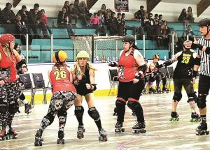 Roller derby clubs hold reffing clinic in McLennan to generate interest