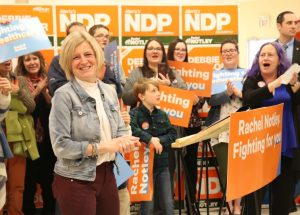 Notley Affirms Commitment to Peace Region, Women's and LGBTQ Rights; Calls Out Alleged UCP Corruption