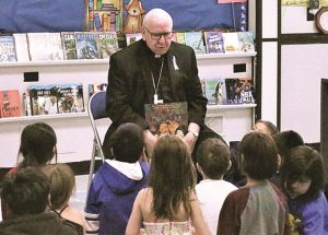 Catholic Archbishop visits Ecole Providence