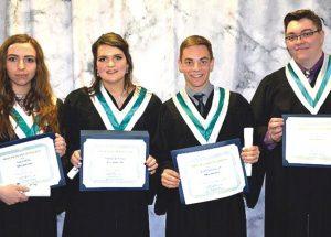 PIC – Marvyn Dupuis Foundation Scholarship 2019 recipients