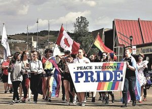Peace River celebrates Pride Weekend