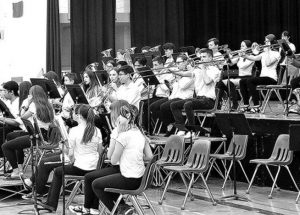 G.P. Vanier band students end the year on a high note at Finale Concert