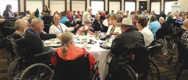 Seniors recognized in Peace River with fun and prizes